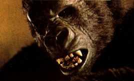 Kong snarling