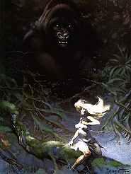 King Kong by Frazetta